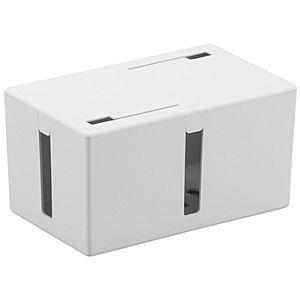 バッファロー ケーブルボックス BSTB01S(WH)(ホワイト)