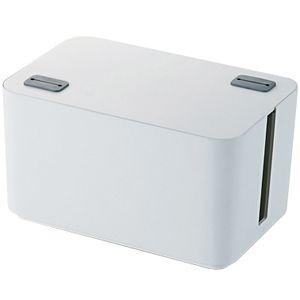 エレコム ケーブルボックス 「幅250mm」 EKC‐BOX002WH (ホワイト)