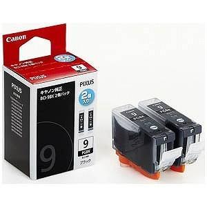 Canon インクタンク(2個パック) BCI‐9BK 2P (ブラック)