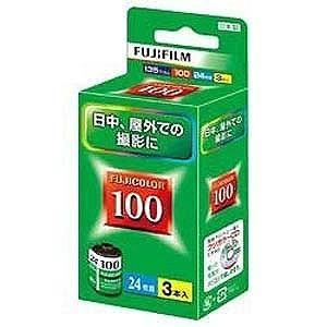富士フイルム FUJICOLOR 100 S 24E枚撮り(3本パック) 135FUJICOLOR1...