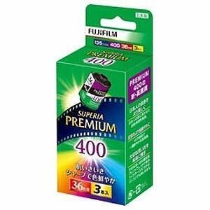 富士フィルム PREMIUM 400 36枚撮り(3本パック) 135PREMIUM400R36EX3S