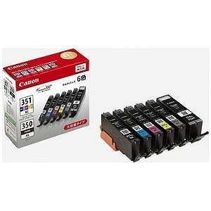 Canon インクタンク(BCI−351XL「BK/C/M/Y/GY」+BCI−350XL)マルチパック BCI‐351XL+350XL/6MP