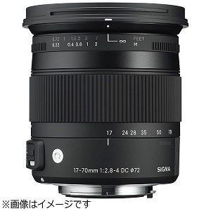 シグマ 17−70mm F2.8−4 DC MACRO HSM 2013モデル(ソニー) 17‐70...