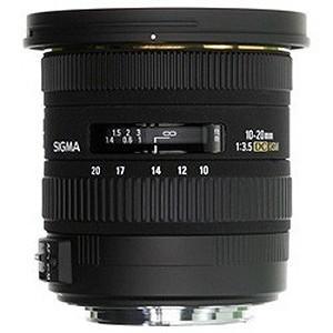 シグマ 広角レンズ キャノン用 10‐20mm F3.5 EX DC HSM(キヤノン)