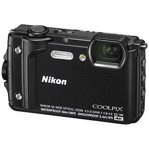 ニコン コンパクトデジタルカメラ COOLPIX(クールピクス) W300 ブラック [防水+防塵+...