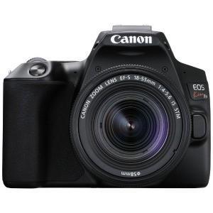 Canon デジタル一眼レフカメラ EOS Kiss X10 ブラック 【EF−S18−55 IS ...
