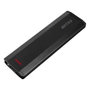 バッファロー 外付けSSD ブラック [ポータブル型 /1TB] SSD−PH1.0U3−BA
