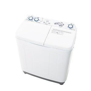 AQUA 2槽式洗濯機[洗濯6.0kg] AQW−N60−W ホワイト (標準設置無料)