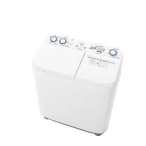AQUA 2槽式洗濯機[洗濯5.0kg] AQW−N50−W ホワイト (標準設置無料)