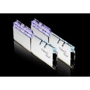 G.SKILL F4-3200C16D-16GTRS  DDR4-3200/8GB x2枚  デスクトップ用メモリ Trident Z Royalシリーズ シルバー