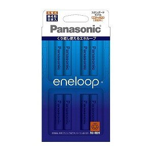 パナソニック 「単4形ニッケル水素充電池」 8本「eneloop」(スタンダードモデル) BK−4M...