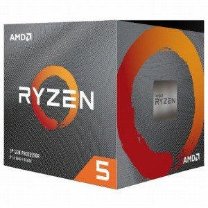 AMD Ryzen 5 3600X With Wraith Spire cooler (6C12T4...