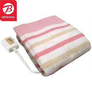 広電 電気毛布「敷きタイプ/約130×80cm」 BKS402