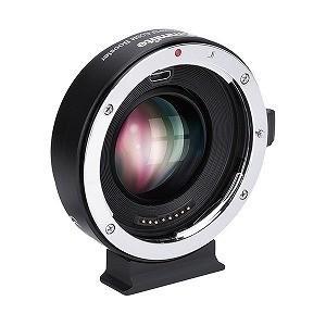 0.71X 電子接点付きマウントアダプター 「レンズ側:キヤノンEFレンズ、カメラ側:キヤノンEF−...