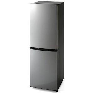 アイリスオーヤマ IRIS 2ドア冷蔵庫 (右開きタイプ /162L) KRSE−16A−BS シル...