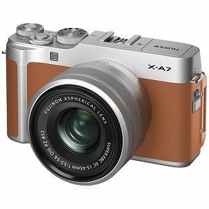 富士フイルム FUJIFILM ミラーレス一眼カメラ レンズキット [ズームレンズ] X−A7LK−...