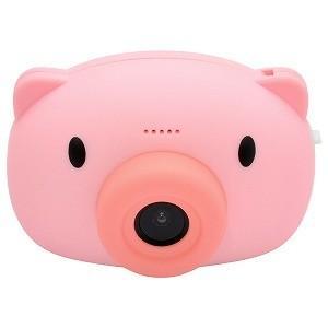ハイテックジャパン Mini Kids Camera BABY PIG (ミニキッズカメラこぶた) ピンク HWC11−PK