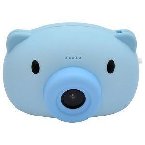 ハイテックジャパン Mini Kids Camera BABY PIG (ミニキッズカメラこぶた) ブルー HWC11−BL