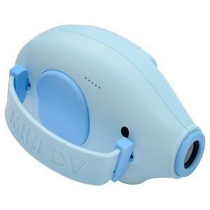 ハイテックジャパン Mini Kids Camera ELEPHANT (ミニキッズカメラぞうさん) ブルー HWC55−BL