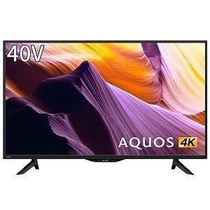 シャープ SHARP 40V型4K対応液晶テレビ(4Kチューナー内蔵) 4T−C40BH1(標準設置無料)の画像