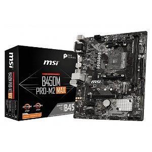 マザーボード B450M PRO−M2 MAX [MicroATX /AM4]