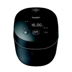 シャープ SHARP 炊飯器 [5.5合/IH] KS−HF10B−B ブラック