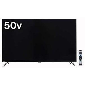 ドウシシャ 50V型4K対応液晶テレビ ORION[4Kチューナー内蔵] OL50XD100(標準設...