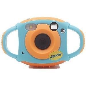 FEIYUTECH キッズカメラ CD−FS ブルー/オレンジ [デジタル式]の画像