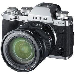 富士フイルム FUJIFILM X−T3 ミラーレス一眼カメラ XF16−80mmレンズキット シル...