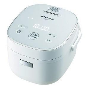 シャープ SHARP 炊飯器 ホワイト系 KS−CF05B−W