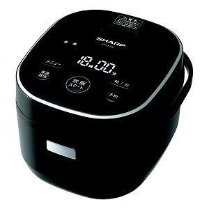 シャープ SHARP 炊飯器 ブラック系 KS−CF05B−B