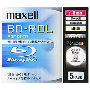 マクセル データ用BD−R(1−6倍速対応/50GB)5枚パック BR50PWPC.5S|y-kojima