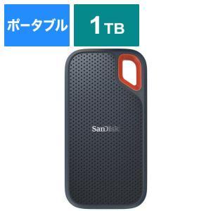 サンディスク 外付けSSD Extreme [ポータブル型 /1TB] SDSSDE60-1T00-...
