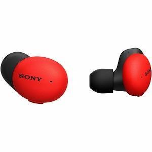 ソニー SONY フルワイヤレスイヤホン WF−H800 RM レッド