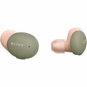 ソニー SONY フルワイヤレスイヤホン WF−H800 GM アッシュグリーン