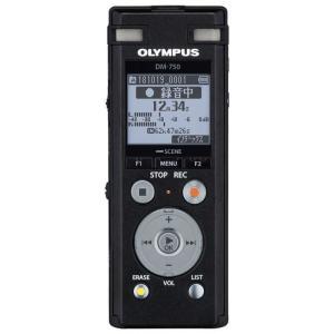 オリンパス OLYMPUS ICレコーダー DM-750BLK ブラック [4GB]