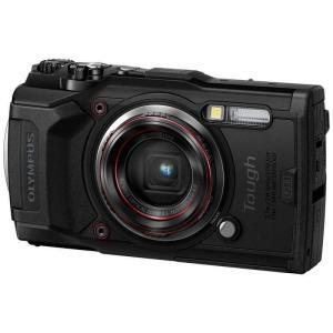 オリンパス OLYMPUS TG−6 コンパクトデジタルカメラ Tough(タフ) ブラック [防水+防塵+耐衝撃] TG6BLK コジマPayPayモール店