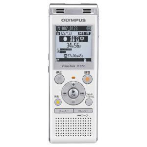 オリンパス OLYMPUS ICレコーダー V-872 ホワイト [4GB] コジマPayPayモール店