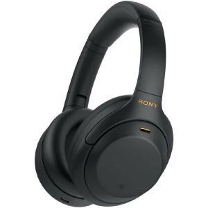ソニー SONY ブルートゥースヘッドホン WH-1000XM4BM ブラック [Bluetooth /ハイレゾ対応 /ノイズキャンセリング対応]|コジマPayPayモール店