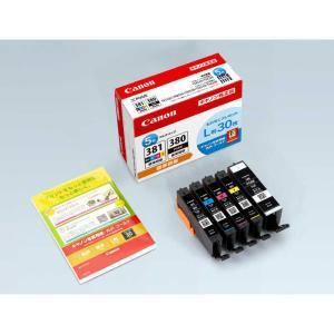 キヤノン CANON 「L版用紙同梱」インクタンク BCI-381+380/5MP|コジマPayPayモール店