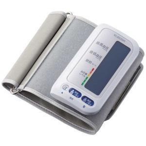 エレコム ELECOM エクリア上腕式血圧計(Bluetooth対応) HCM-AS01BTWHの画像