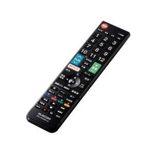 エレコム ELECOM かんたんTVリモコン第2弾 LG用 ブラック ERC-TV02XBK-LGの画像