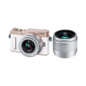 パナソニック Panasonic ミラーレス一眼カメラ LUMIX GF10(ダブルレンズキット) DC-GF10W-W(ホワイト) コジマPayPayモール店