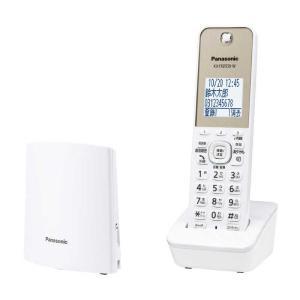 パナソニック Panasonic 「親機コードレスタイプ/単独子機」デジタルコードレス留守番電話機 ...