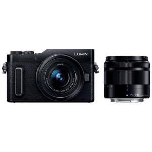 パナソニック Panasonic LUMIX GF10【ダブルズームキット】 DC-GF10WA-K(ブラック/ミラーレス一眼カメラ) コジマPayPayモール店