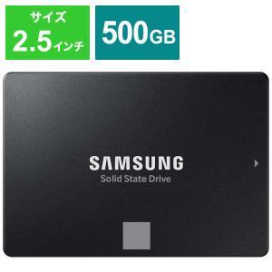 SAMSUNG 内蔵SSD 870 EVO [2.5インチ /500GB] MZ-77E500B/I...