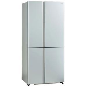 アクア AQUA 冷蔵庫 サテンシルバー AQR−TZ51K−S [4ドア /フレンチドアタイプ /512L] AQR-TZ51K-S(標準設置無料)の画像