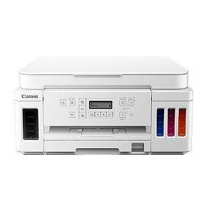 キヤノン CANON インクジェット複合機 GIGATANK ホワイト [カード/名刺〜A4] G6...