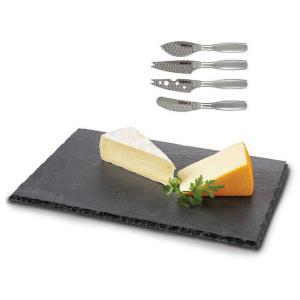 ボスカ ミニチーズナイフ4P&スレートチーズボード 87913