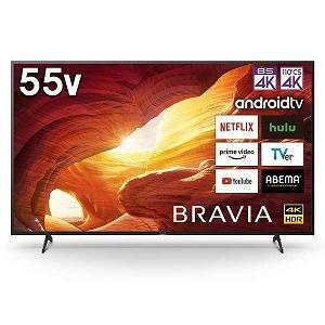 ソニー SONY 55V型4K対応液晶テレビ「BRAVIA」[4Kチューナー内蔵/YouTube対応...